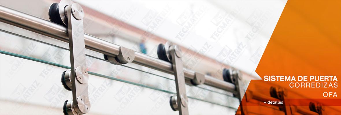 Sistemas para puertas corredizas /OFA